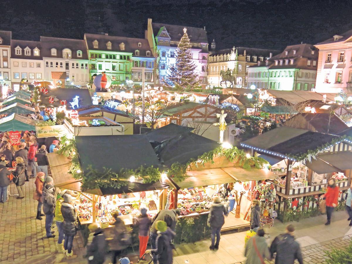 Landau Weihnachtsmarkt.Sicherer Weihnachtsmarkt Pfalz Echo