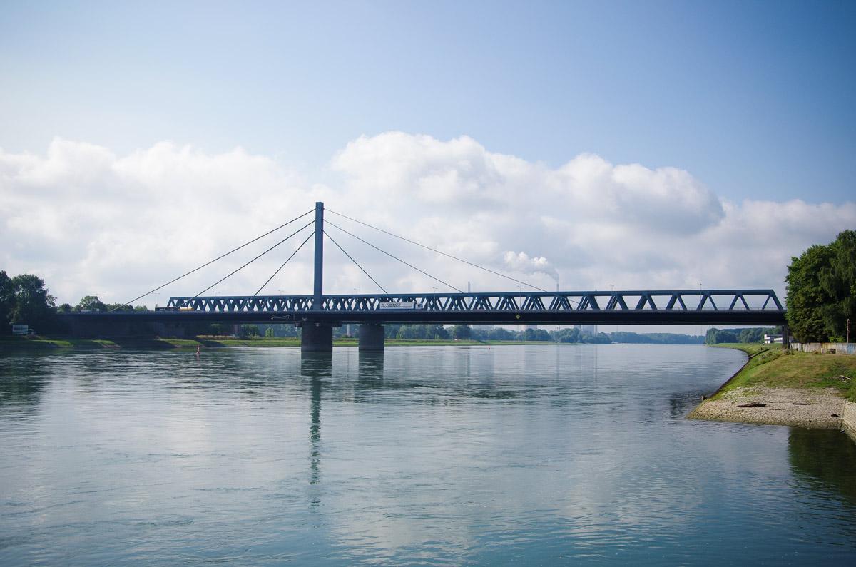 Rheinbrücke Wörth Sperrung