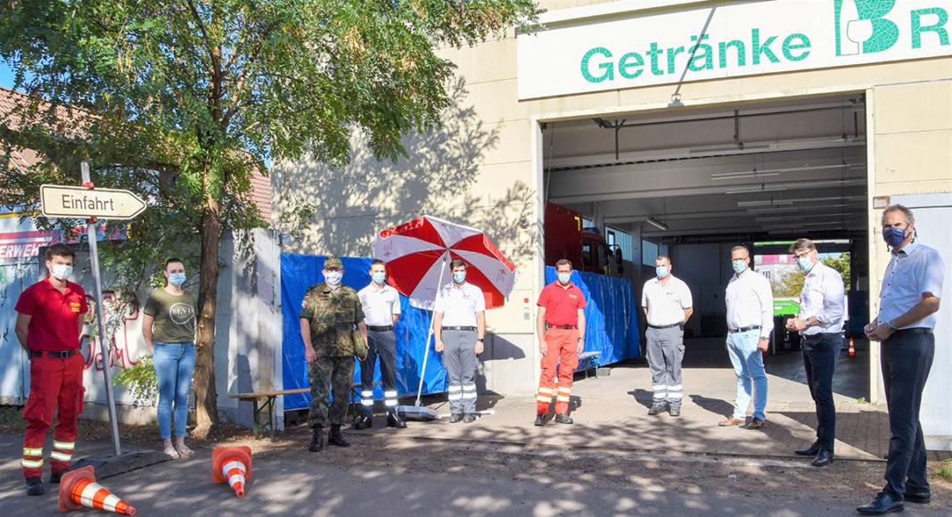 Die Teststation in Landau wird aktuell teilweise vom Land und teilweise kommunal betrieben (von Landkreis Südliche Weinstraße und der Stadt Landau). (Foto: Archiv/Stadt Landau)