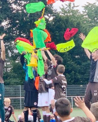 Im Camp wird Spaß und Training verbunden. (Foto: privat)
