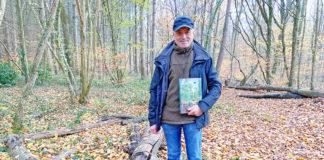 Erwin Rapps Buch ist ein hilfreicher Begleiter, die Schönheit des Bienwaldes zu entdecken. (Foto: msc)