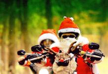 Die Harley Davidson Riding Santas sind auch in diesem Jahr unterwegs