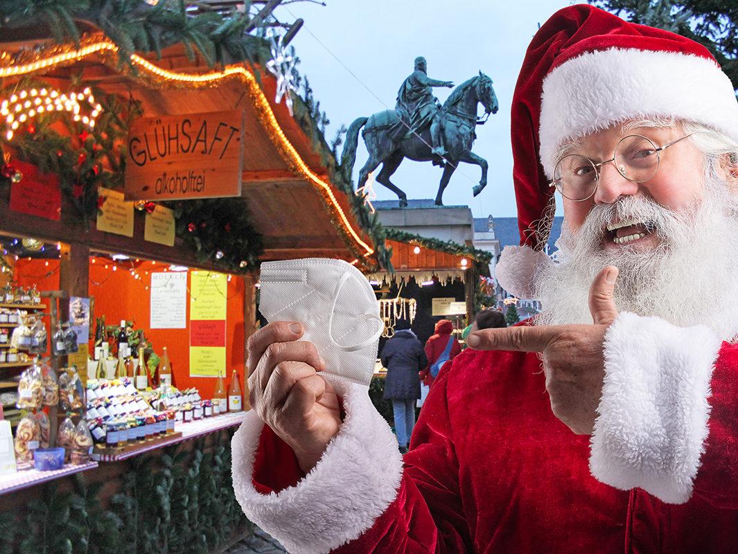 """""""Fahren auf Sicht."""" Was an Weihnachtsmärkten – wie zum Beispiel dem Landauer Thomas-Nast-Nikolausmarkt – oder Alternativen dazu möglich ist kann nur kurzfristig entschieden werden. (Foto: ebl & freepik)"""