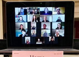 """""""Online-Choiring"""" des Voice-und-Stage-Chores aus Jockgrim. (Foto: privat)"""